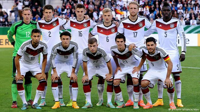 ME 2015 do lat 21 – Niemcy kontra Dania.