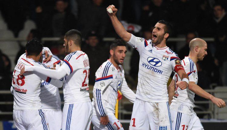 Reims kontra Lyon.