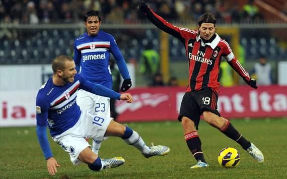 Milan z Sampdorią zamykają kolejkę.