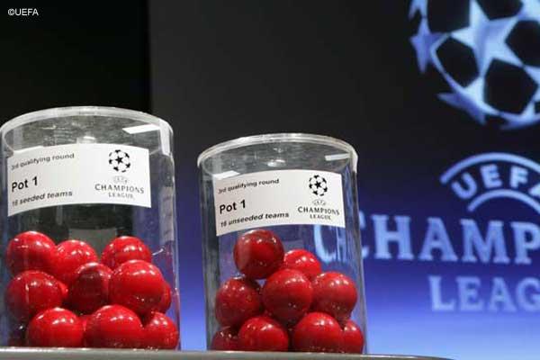 Losowanie Ligi Mistrzów i Ligi Europejskiej sezon 2012/13