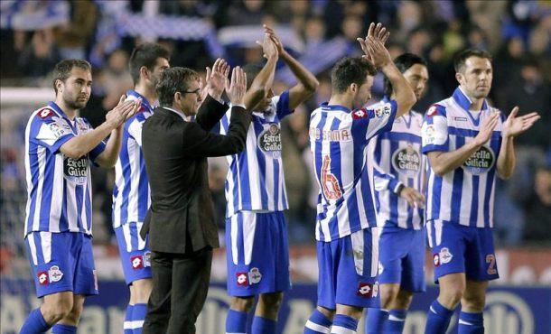 Deportivo kontra Espanyol.