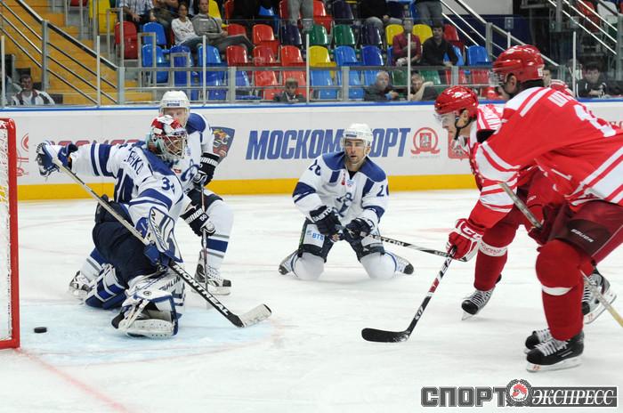Hokejowe derby Moskwy!