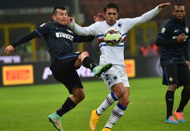 Sampdoria w pojedynku z Interem.