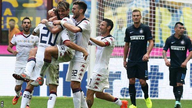 Cagliari podejmie Inter.