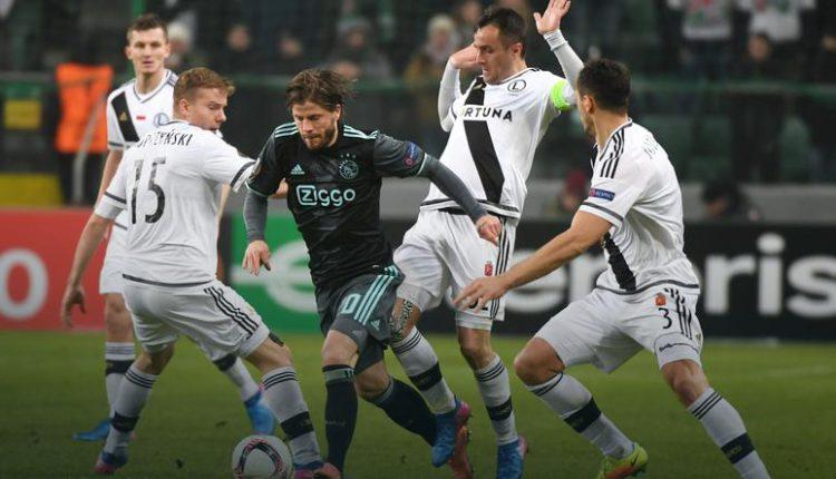 Ajax Amsterdam – Legia Warszawa: darmowe typy bukmacherskie!