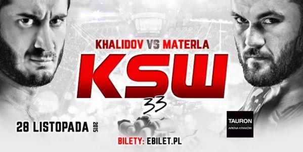 KSW 33: Pokazowy trening Khalidova i Materli