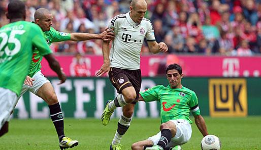 Lewandowski i spółka zagrają z Hannoverem.