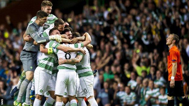 Celtic w walce o Ligę Mistrzów..