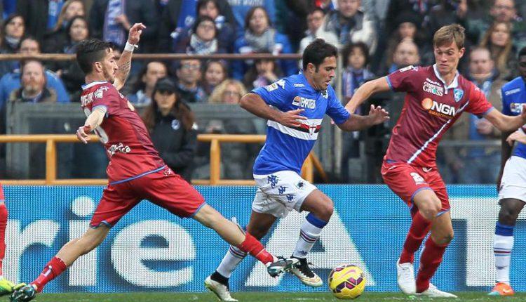 Empoli kontra Sampdoria.