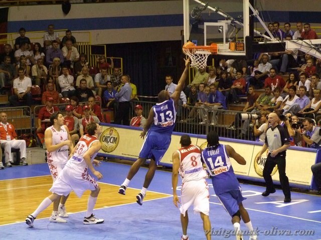 Eurobasket: Francja – Rosja