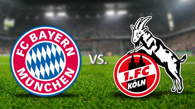 Bayern zmierzy się z Kolonią.