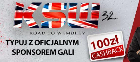 Promocje i bonusy od Betclic na KSW 32 Road to Wembley
