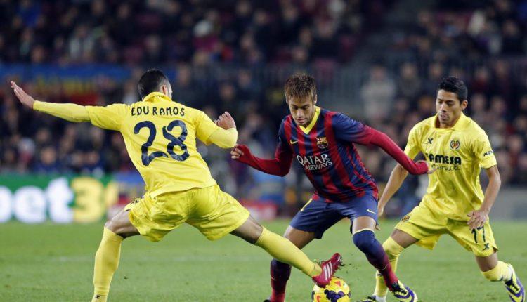 Pojedynek na Camp Nou.