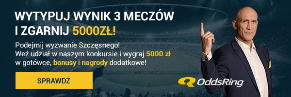 Maciej Szczęsny rzuca wyzwanie typującym na stronie OddsRing!