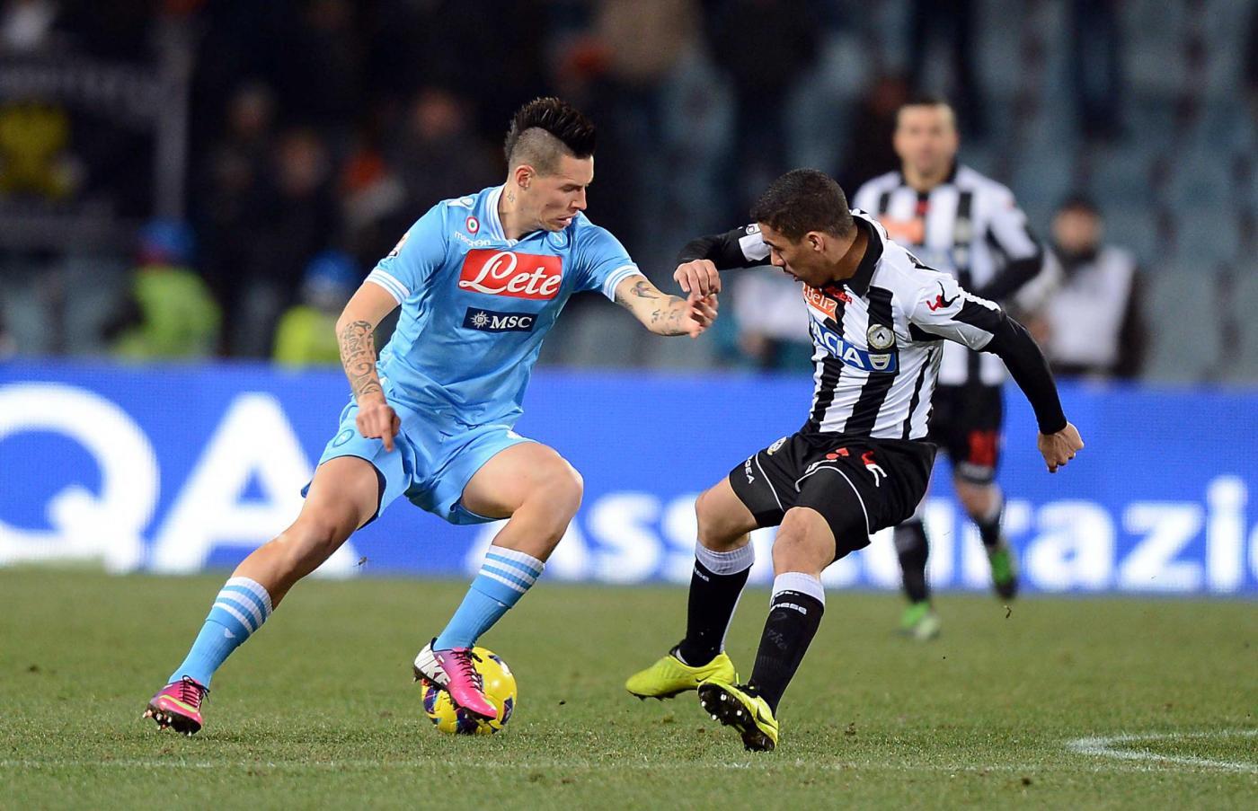 Napoli kontra Udinese.