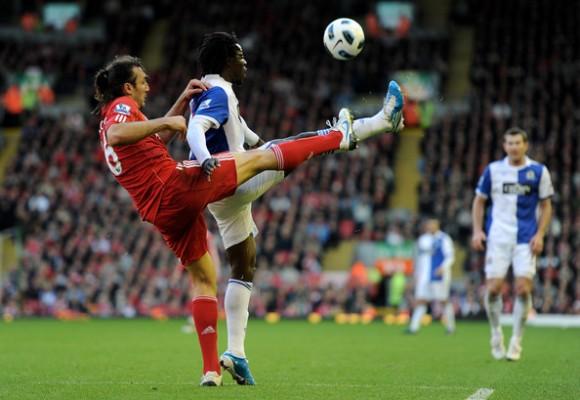 Liverpool kontra Blackburn.