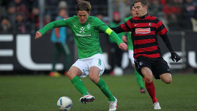 Freiburg kontra Werder Brema.