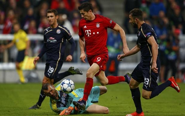 Analiza: Dinamo Zagrzeb – Bayern Monachium