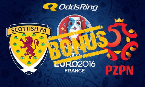 Specjalny bonus Oddsring na mecz Szkocja – Polska!