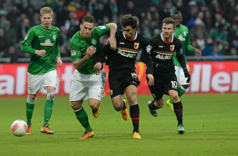 Werder podejmie Augsburg.