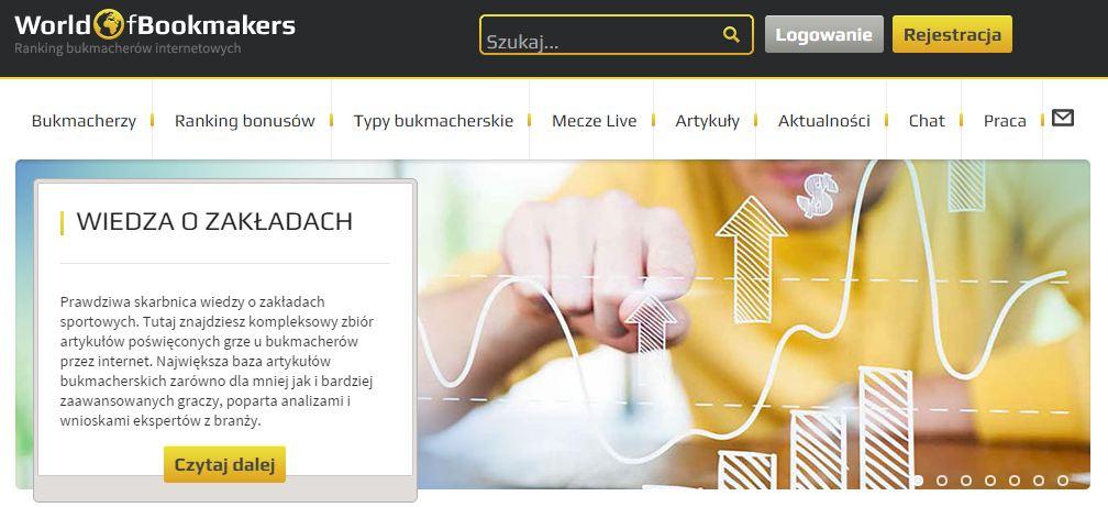 WorldofBookmakers.com – największa baza bukmacherów