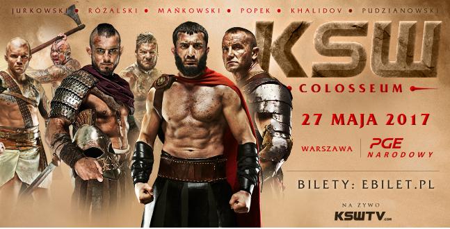 Już tylko miesiąc do gali KSW Colosseum!