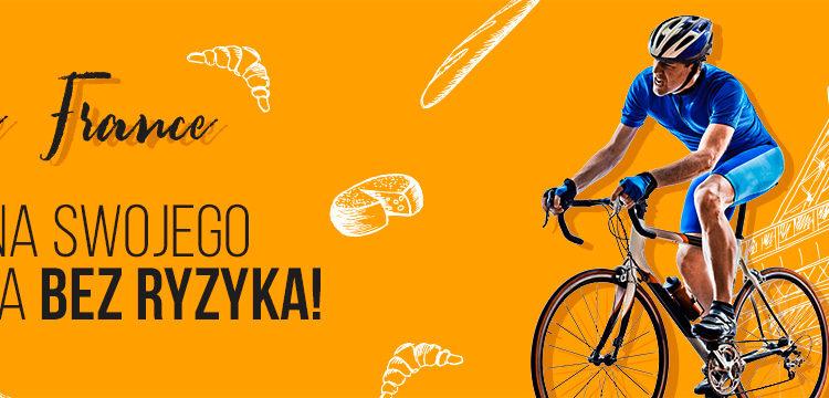 100 PLN na Tour de France od LV BET!