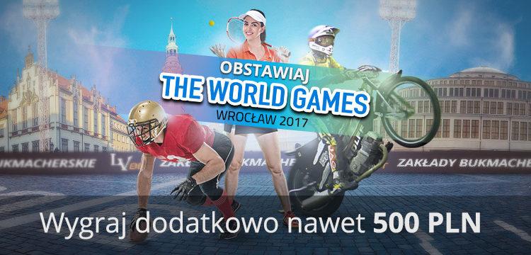 Bonus na The World Games Wrocław 2017!