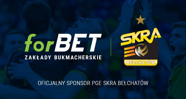 ForBET nowym sponsorem PGE Skry Bełchatów!