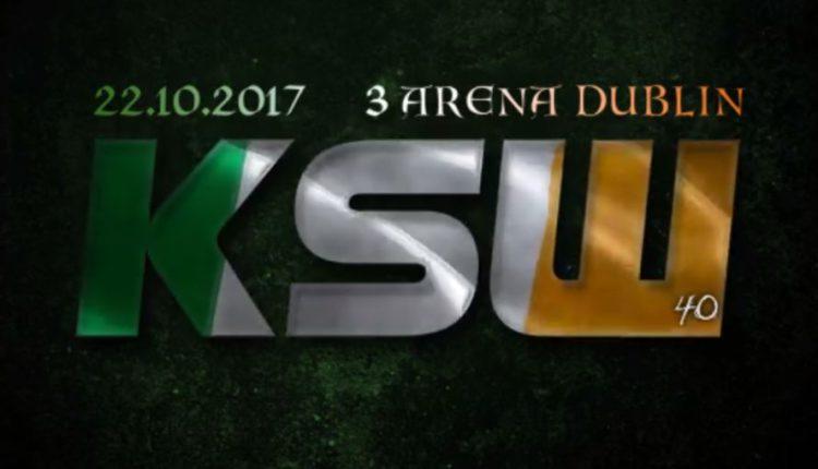 Pudzian vs McSweeney na KSW w Dubinie!