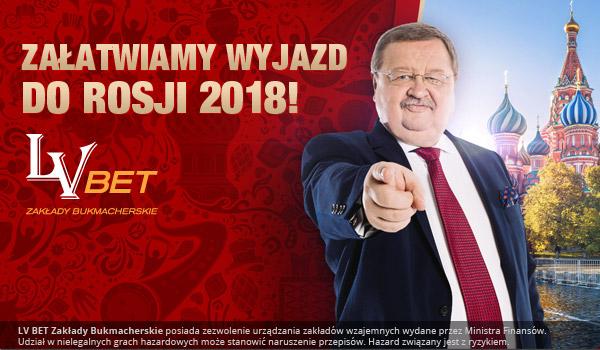 LV BET załatwia wyjazd na MŚ 2018